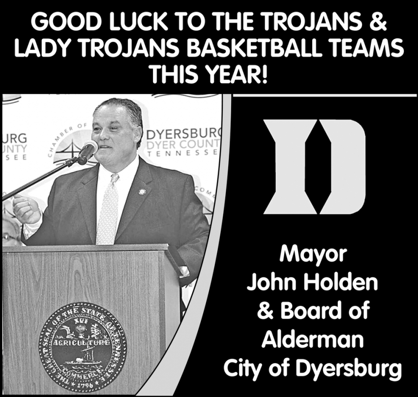 Good Luck to the Trojans & Lady Trojans Basketball Teams this Year!