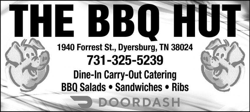 Dine-In Carry-Out Catering BBQ Salads