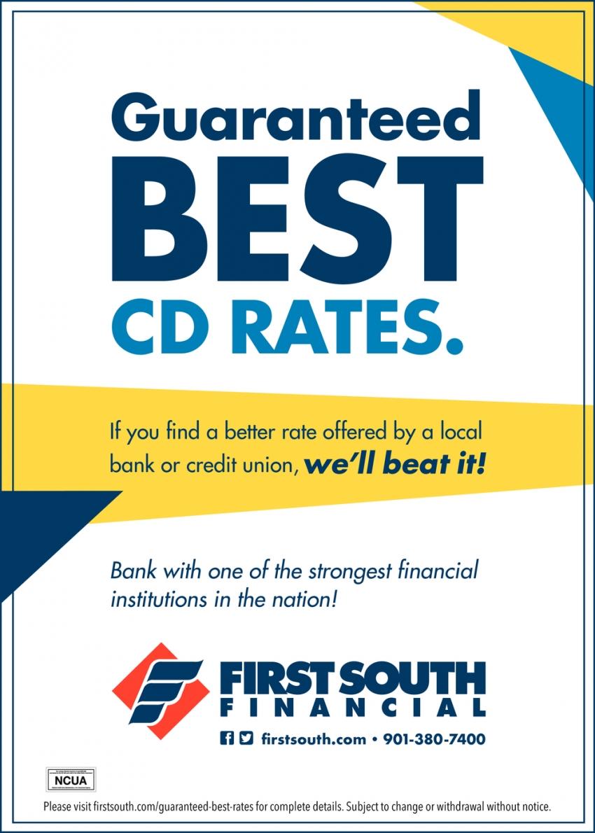 Guaranteed Best CD Rates