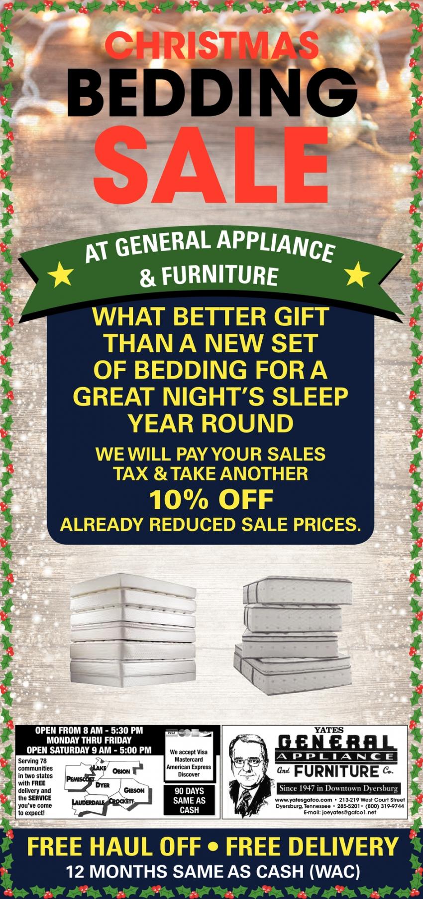 Christmas Bedding Sale