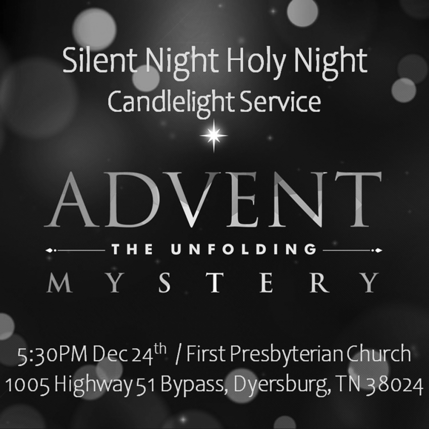 Advent the Unfolding Mystery