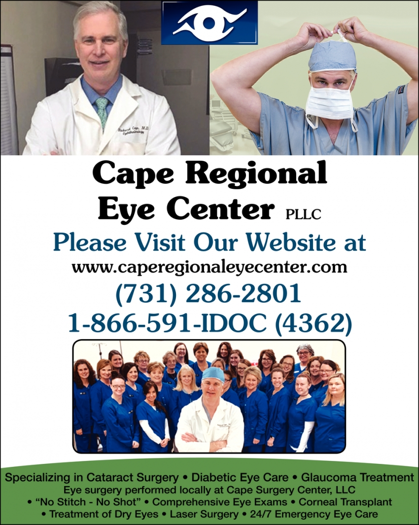 Specializing in Cataract Surgery