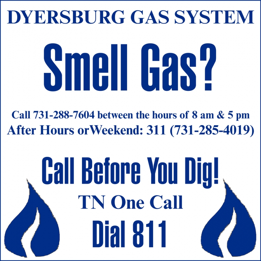 Smell Gas?