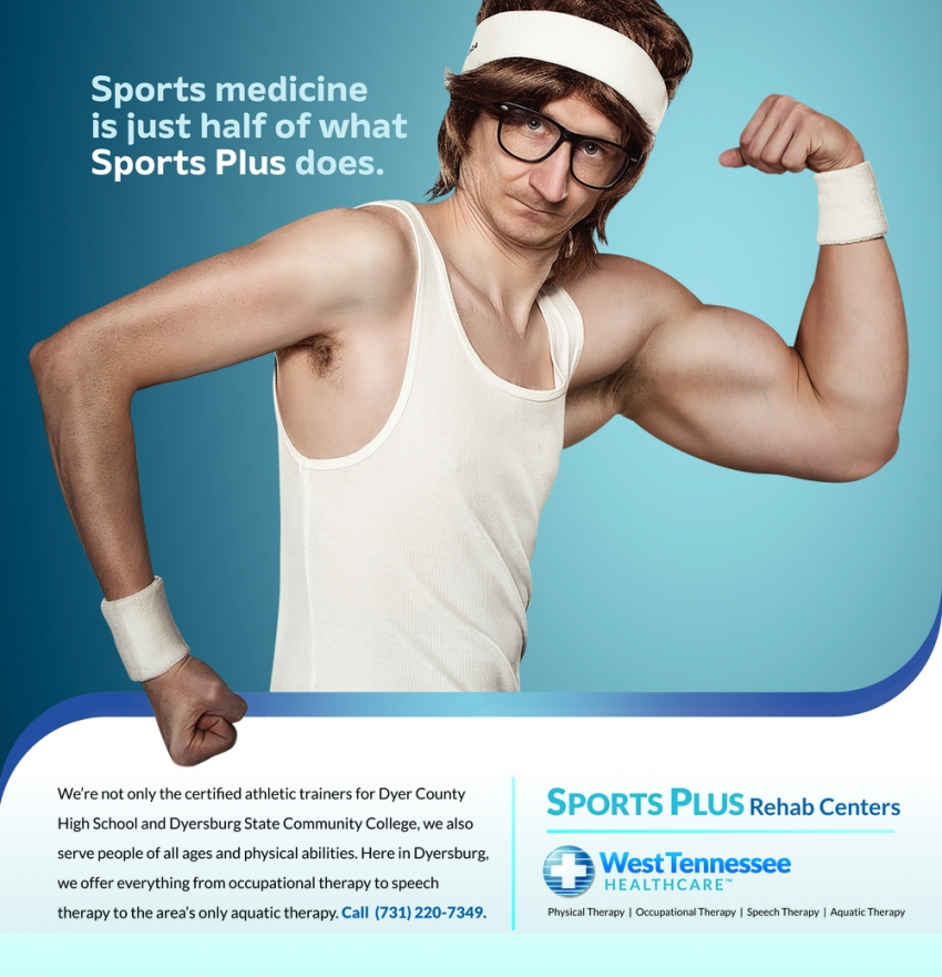 Sports Medicine is Just Half of what Sports Plus Does