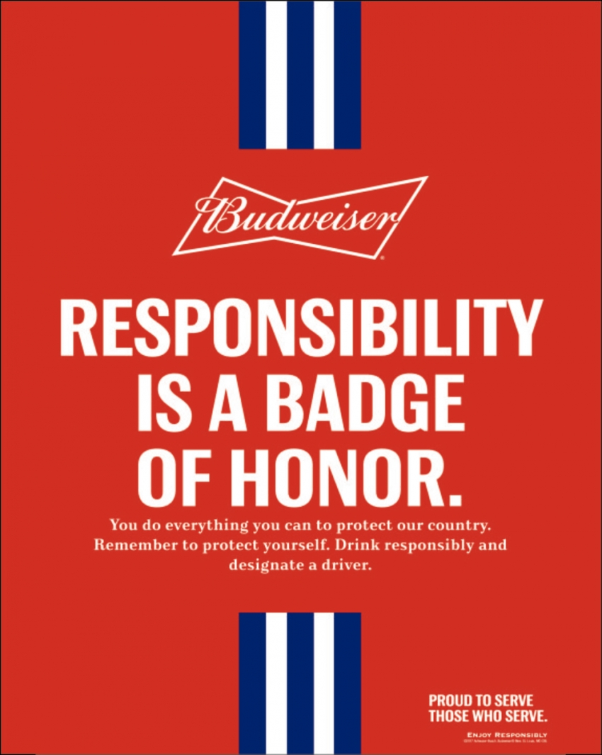 Responsibility is a Badge of Honor