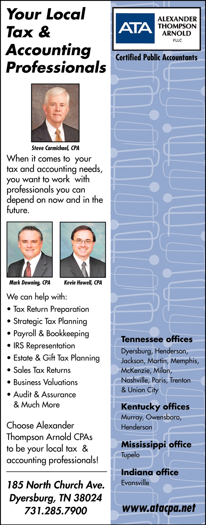 Your Local Tax & Accouting Professionals
